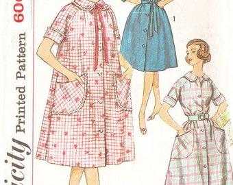 Simplicity 3712 Women's 1960's Lounge Dress - Size 18 (Bust 38)