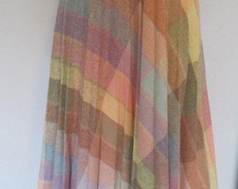 1970s Wool Skirt