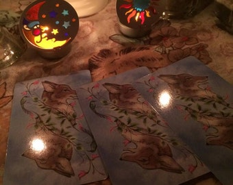 Lost in the woods 3 card reading