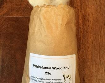 Whitefaced Woodland Fleece - 25 grams