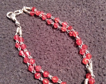 Rescued, Recycled & Reconstructed Bracelet.