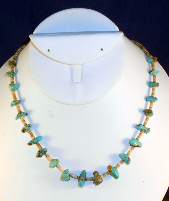 Vintage Necklace Santo Domingo Pueblo Old by ...