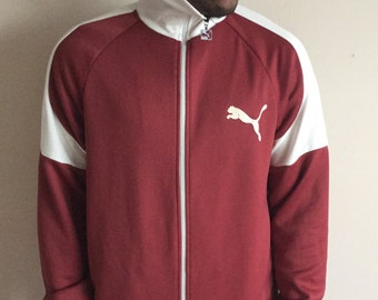 Vintage Puma Zip Up Jacket