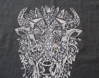 Aztec Bison - Adult Medium