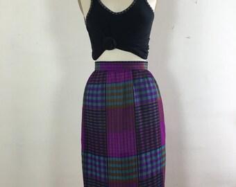 Plaid Skirt // Women's 0