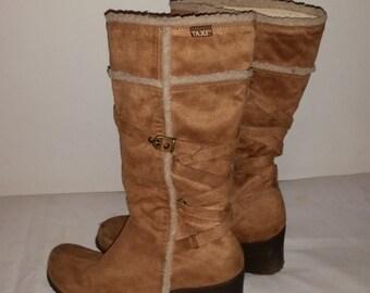 Sweden boots beige Style Hippie 70's
