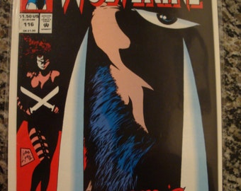 Marvel Comics Presents Wolverine Issue 116 1992 Marvel comic book