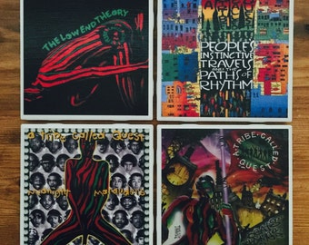 A Tribe Called Quest Album Covers- Ready!