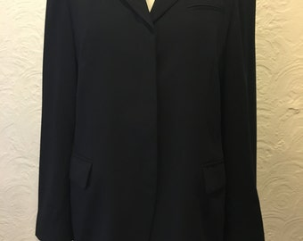Chic Kenzo Women's Black Blazer Size 42