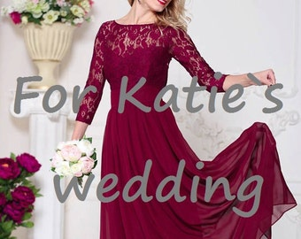 Special order only for Katie s wedding