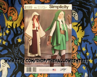 Simplicity 8199 Sewing Zelda Pattern Costume Link Medium to Large