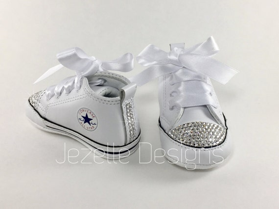 Baby Bling Shoes for Newborns w  Swarovski Crystals Soft Sole 150a17611