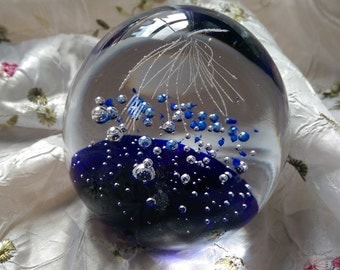 Glass Ornamental Paperweight