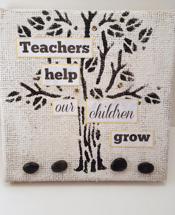 Thanks For Helping Me Grow Quotes: Items Similar To Thank You For Helping Us Grow