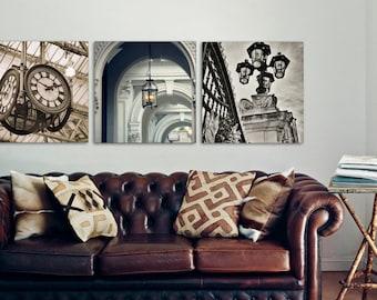 Set of 3 London Prints, City Wall Art, Brown Beige Decor Print Set, Neutral Wall Art, London Photography, Architecture, Fine Art Photography