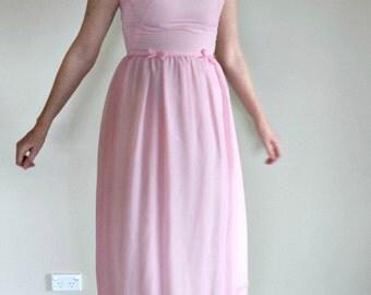 Stunning Lana Del Rey style seventies prom dress size 8