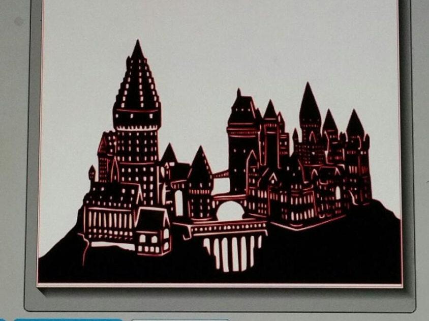 Harry potter hogwarts vinyl decal - Hogwarts decal ...
