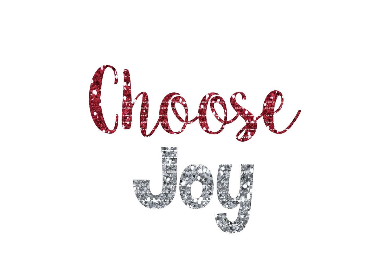 Christmas SVG Vector Cutting File Choose Joy Cutting Files