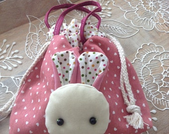 Adorable Bunny Accessory Porch/Mini Purse