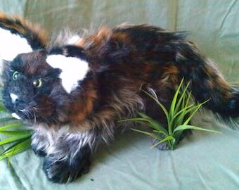 Tao the Cat Poseable Art Doll