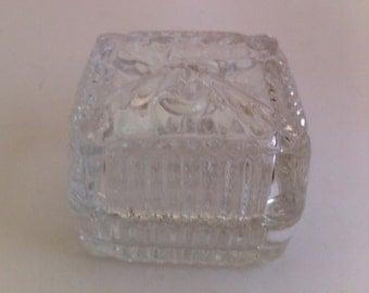 Crystal Clear Industries Lead Crystal Trinket Box - Yugoslavia