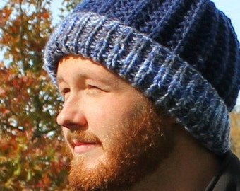 Knitting Pattern For Men s Stocking Cap : Boys Hats Etsy Studio