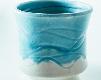 Blue Ceramic Cup