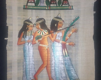3 Musicians from the tomb of Nakht