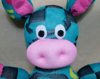 Custom Handmade Sock Pig