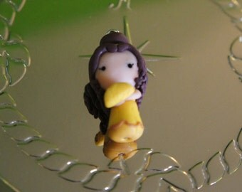 Taco Belle Polymer Clay Charm