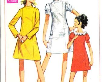 Simplicity 7730, ©1968, mini-dress, Size 7JP, Bust 32