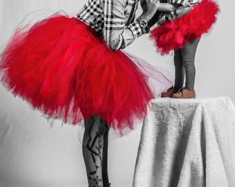 Red Mommy And Me Tutus Halloween Christmas Girls Tutu Valentines Day