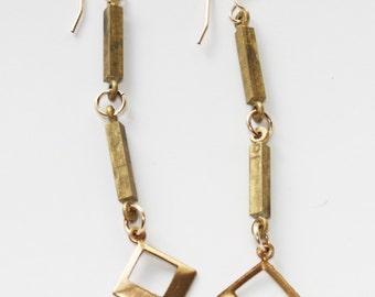 Geometric Brass Drops