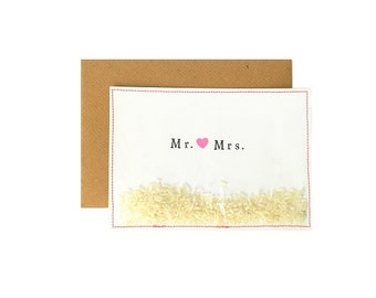 Mr. & Mrs.  I Ansichtkaart/Postcard
