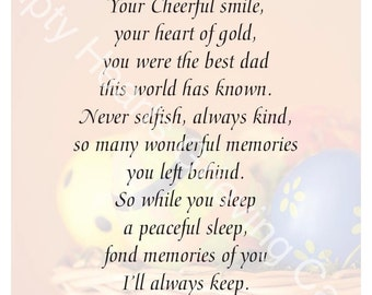 Easter Day Grieving Cards for Dad
