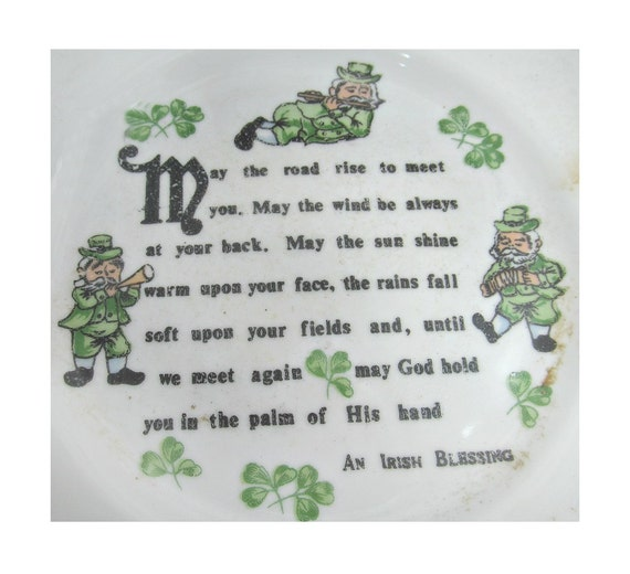 Irish blessing irish decor st patrick gift irish for Irish home decorations