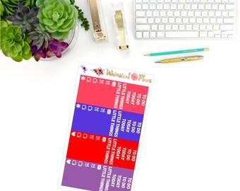 Wildflower Fields Headers & Littles - 50 Planner Stickers