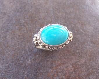 Stunning Sleeping Beauty Turquoise ring
