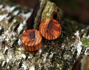 Olivewood Ear Plug