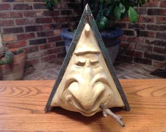 Vintage Gnome Troll Birdhouse R Vandamme