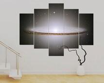 Sombrero Galaxy 5 panel Canvas (over 1 metre) 36 x 50 inch Art Print Canvas Wall Art Unframed Canvas Contemporary Modern!