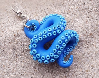 Tentacle octopus charms
