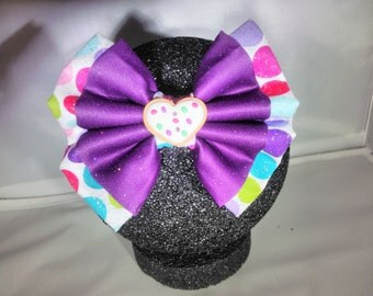 Cookie Hair Bow