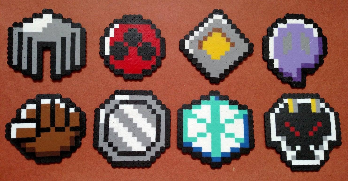 Pokemon Gym Badges Pixel Art Images Pokemon Images