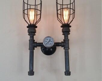 Beautiful  Light  Vanity Light  Wall Light  Wall Sconce  Steampunk Light