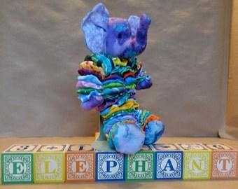 Elephant Yo-Yo Doll - Multi-Colored