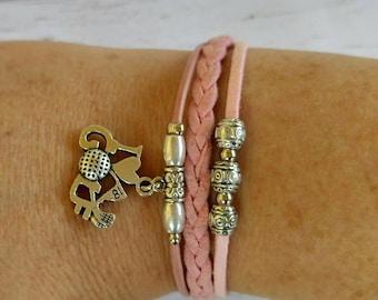 Golf Bracelet// Team Colors// Golf Mom// Golf Coach// Golf Gift// Custom Sports Bracelet for Girls// Choose Colors