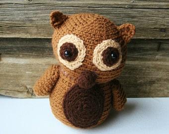 stuffed animal-owl