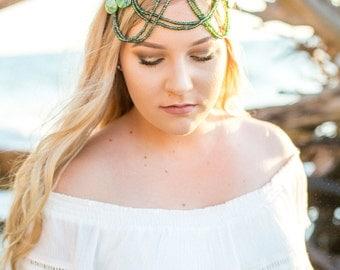Enchantress headpiece- Mermaid Crown, unique crown, handmade crown