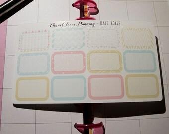 Soft Pastels Half Boxes